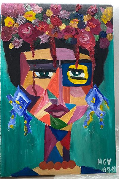 Preda Mariana Varela Dumaguete city artist traditional Ari