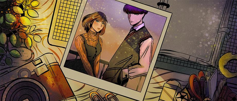 "Original Character for a webtoon series, ""Sayu and Von"" Portia Nemeño digital Dumaguete city artist"